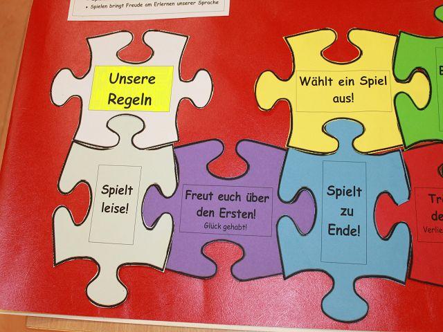 puzzle spielt bild